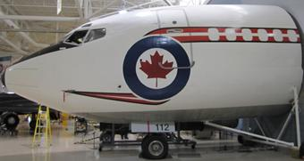 Photo of Boeing 727 (nose)