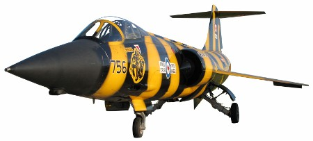 Photo of Lockheed CF-104 Starfighter