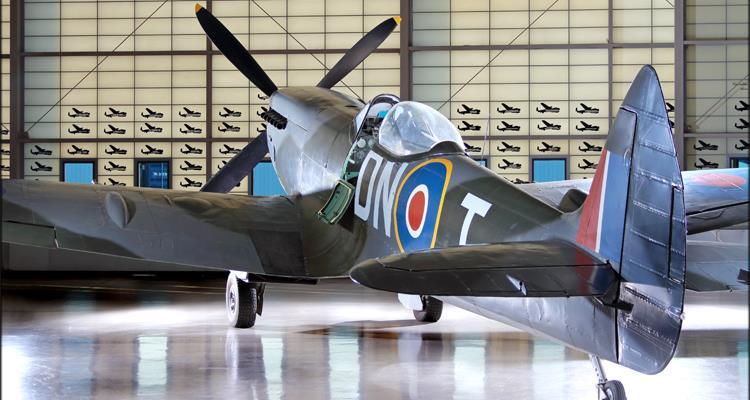 Photo of Supermarine Spitfire Mk. XVIe