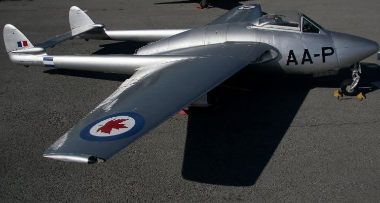 Photo of de Havilland DH.100 Vampire FB.6