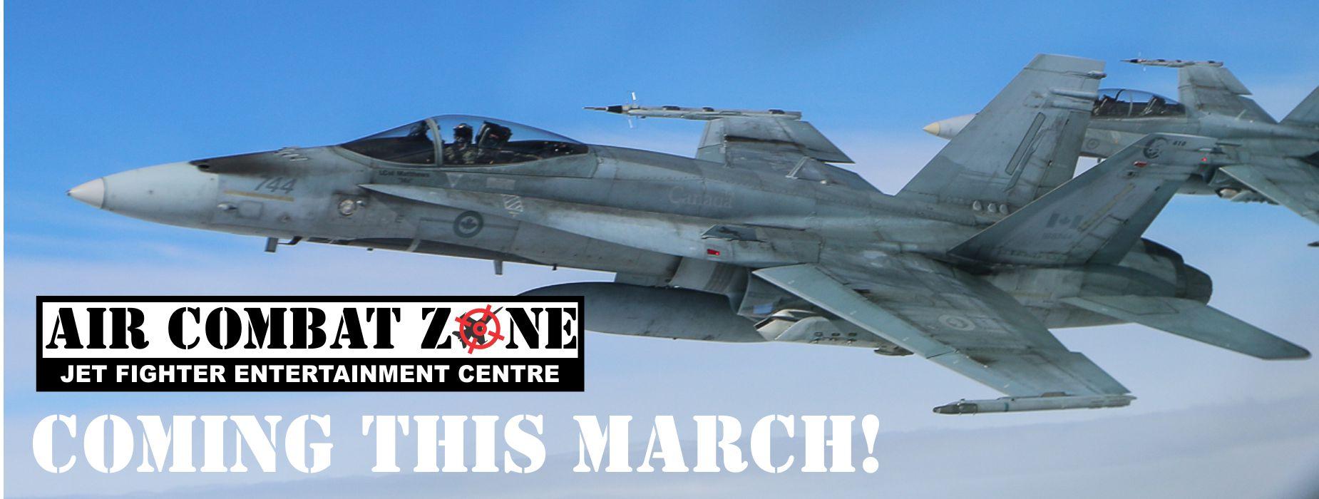 Air Combat Zone at Canadian Warplane Heritage Museum