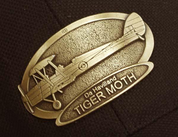 Product Photo of 16668 - De Havilland Tigermoth Brass Logo Hat