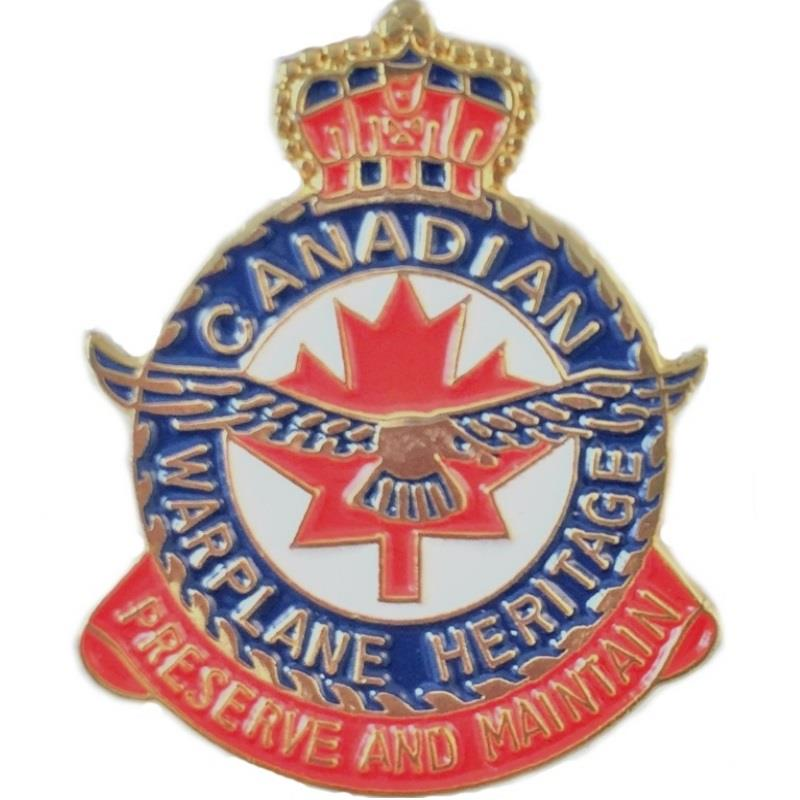 Product Photo of 11440 - Canadian Warplane Heritage Crest Lapel Pin