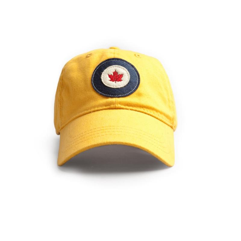 Product Photo of 15256 - RCAF Roundel Hat (Red Canoe) Yellow