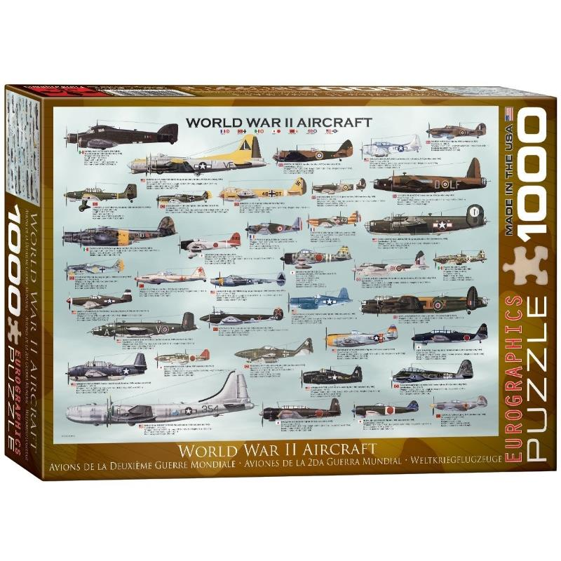 Product Photo of 16424 - World War II Aircraft Puzzle