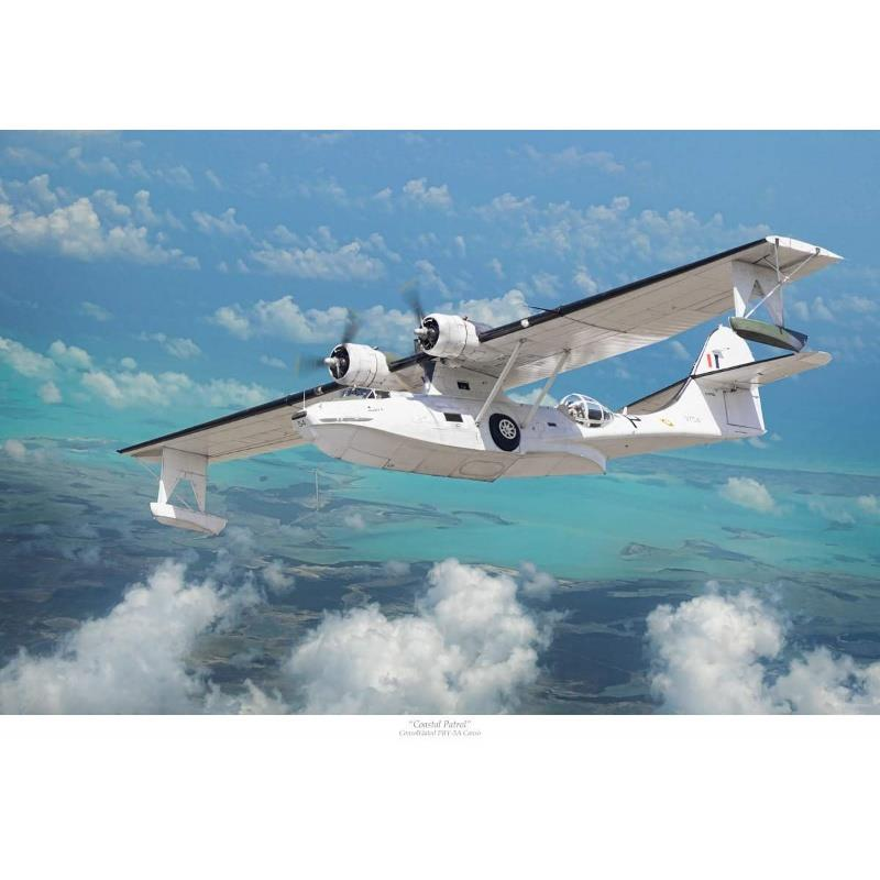 Product Photo of 18408 - Maritime Patrol, PBY Canso Print