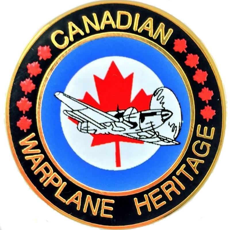 Product Photo of 18686 - Canadian Warplane Heritage Roundel Lapel Pin