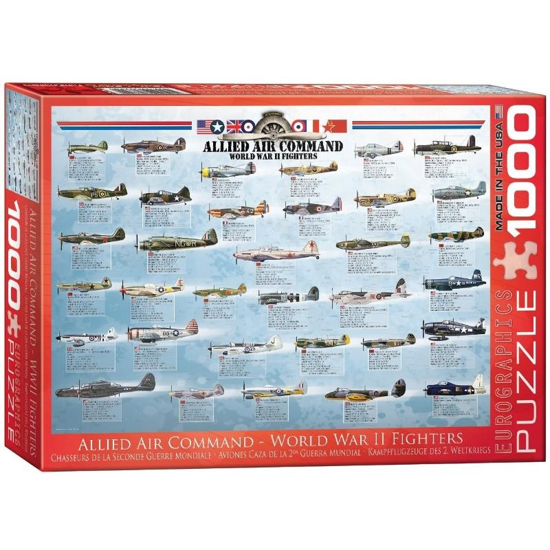 Product Photo of 20180 - Allied Air Command - WWII Fighters Puzzle