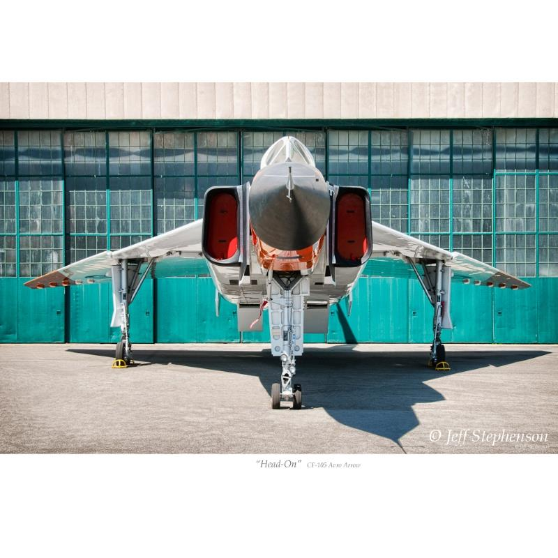 Product Photo of 20647 - Avro Arrow 'Head On' Print