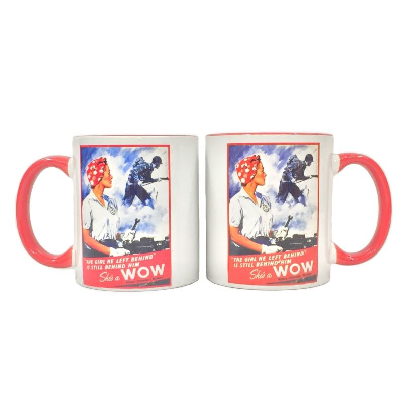 Product Photo of 20943 - She's A WOW (Womens Ordanace Worker) Coffee Mug