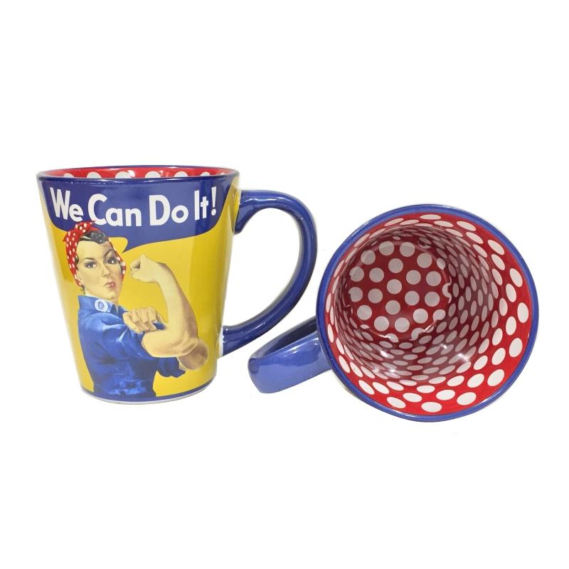 Product Photo of 20944 - We Can Do It - Rosie the Riveter Coffee Mug