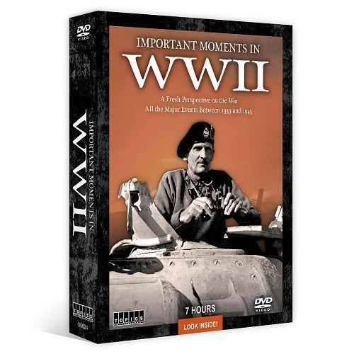Product Photo of 21630 - Important Moments in WWII DVD Set