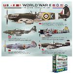 Photo of 21888 - World War II Great Fighter Aircraft Mini Puzzle