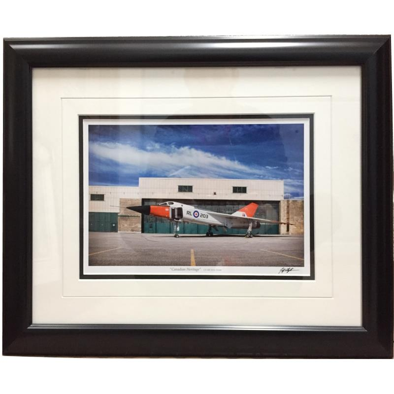 """Product Photo of 22213 - Avro Arrow """"Canadian Heritage"""" Framed Print"""