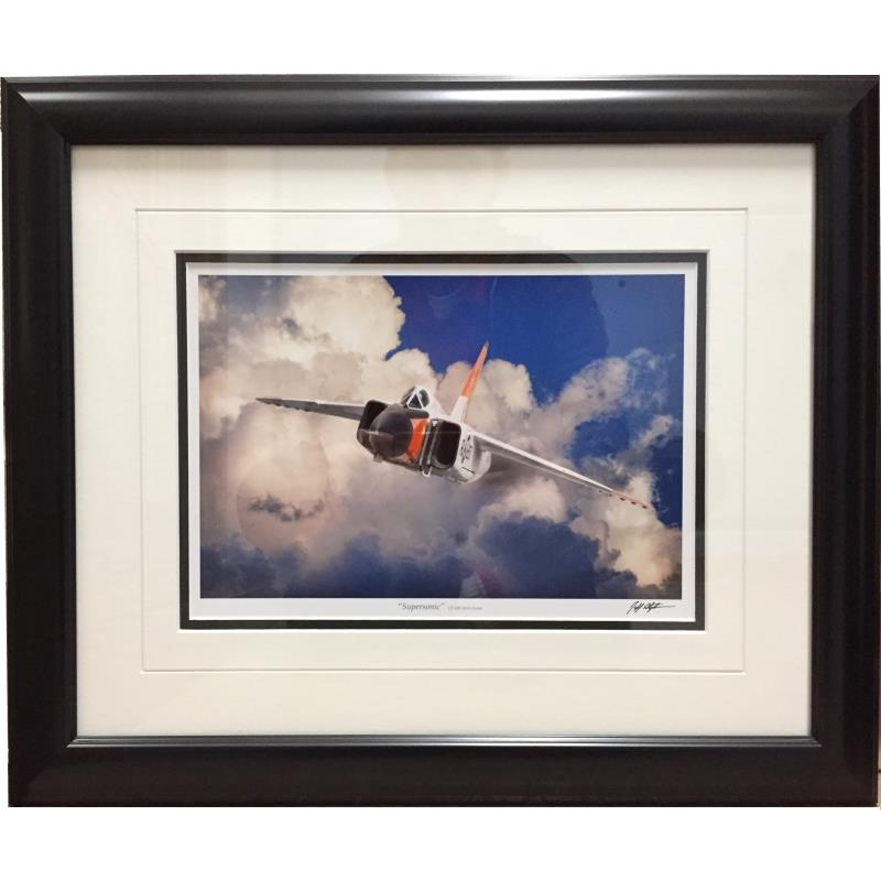 """Product Photo of 22522 - Avro Arrow """"Supersonic"""" Framed Print"""