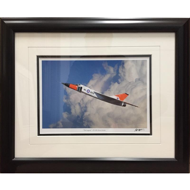 """Product Photo of 23430 - Avro Arrow """"The Legend"""" Framed Print"""
