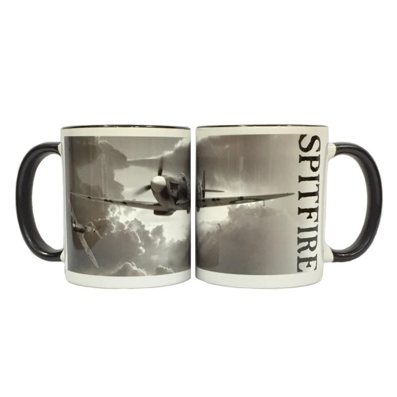 Product Photo of 23436 - Spitfire Black and White Mug