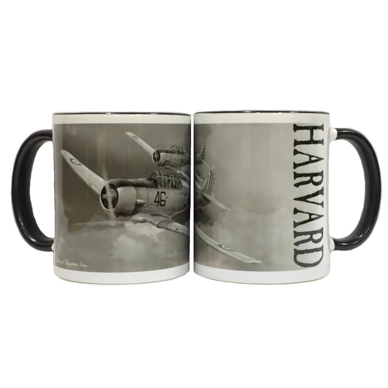 Product Photo of 23438 - Harvard Black and White Mug