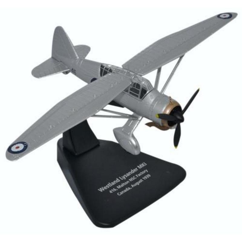 Product Photo of 25425 - Westland Lysander Mk.II #416 Diecast Model