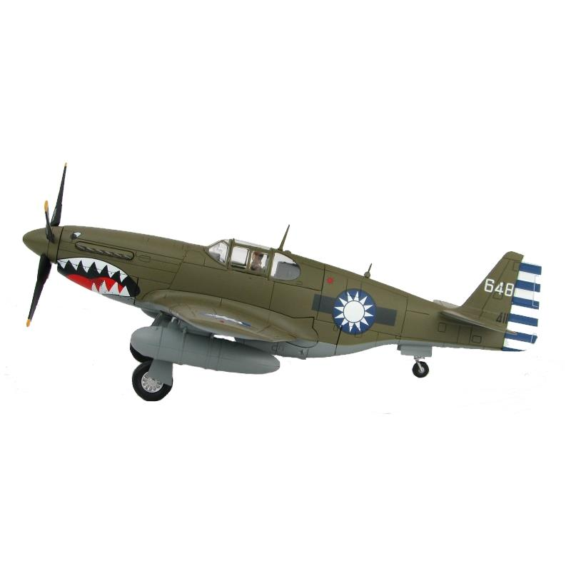Product Photo of 26502 - P-51C Mustang No.32 Squadron, Chinese Air Force Diecast Model