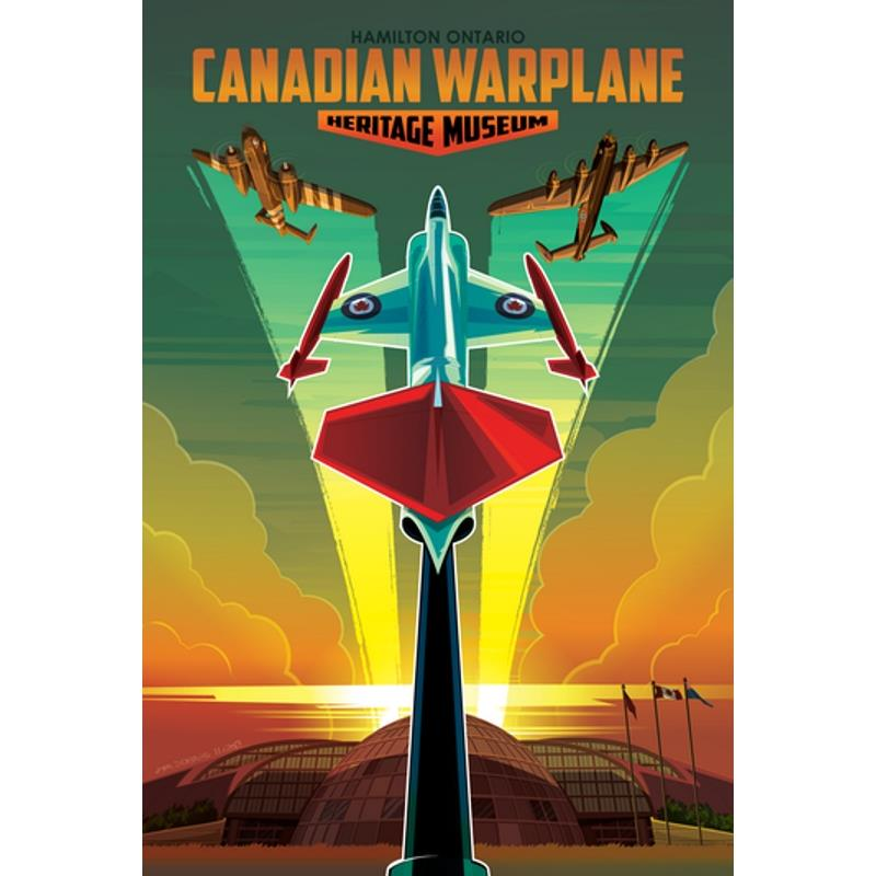 Product Photo of 26545 - Canadian Warplane Heritage Museum Poster