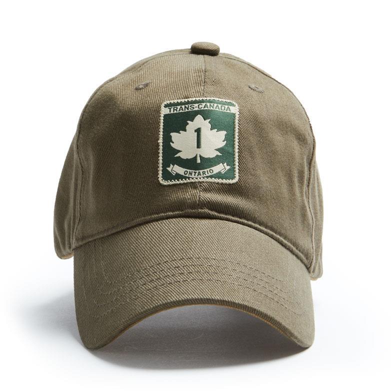 Product Photo of 26778 - Trans Canada Highway Ontario Khaki Hat