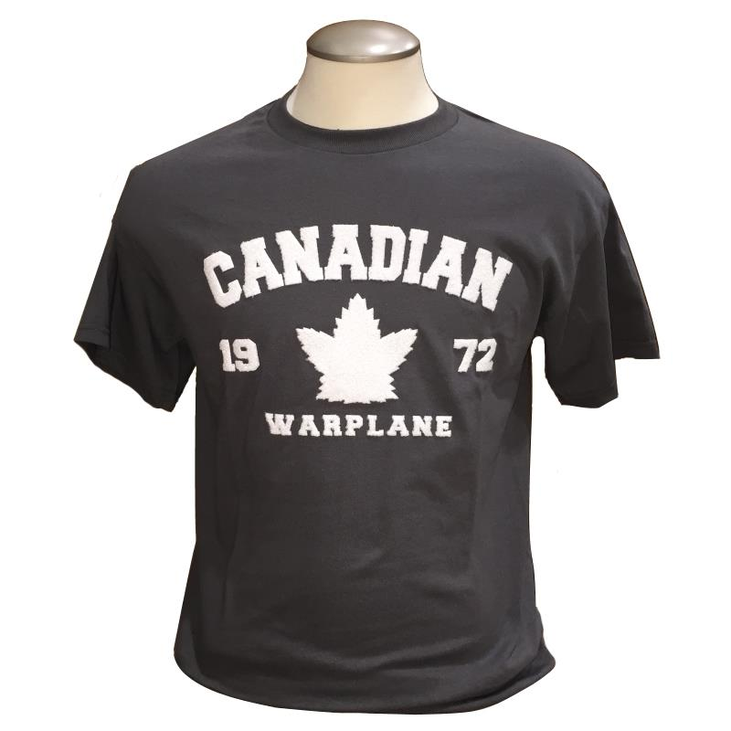 Product Photo of CWHCHARCOALTSHIRT2018 - Canadian Warplane Heritage Museum Charcoal T-Shirt