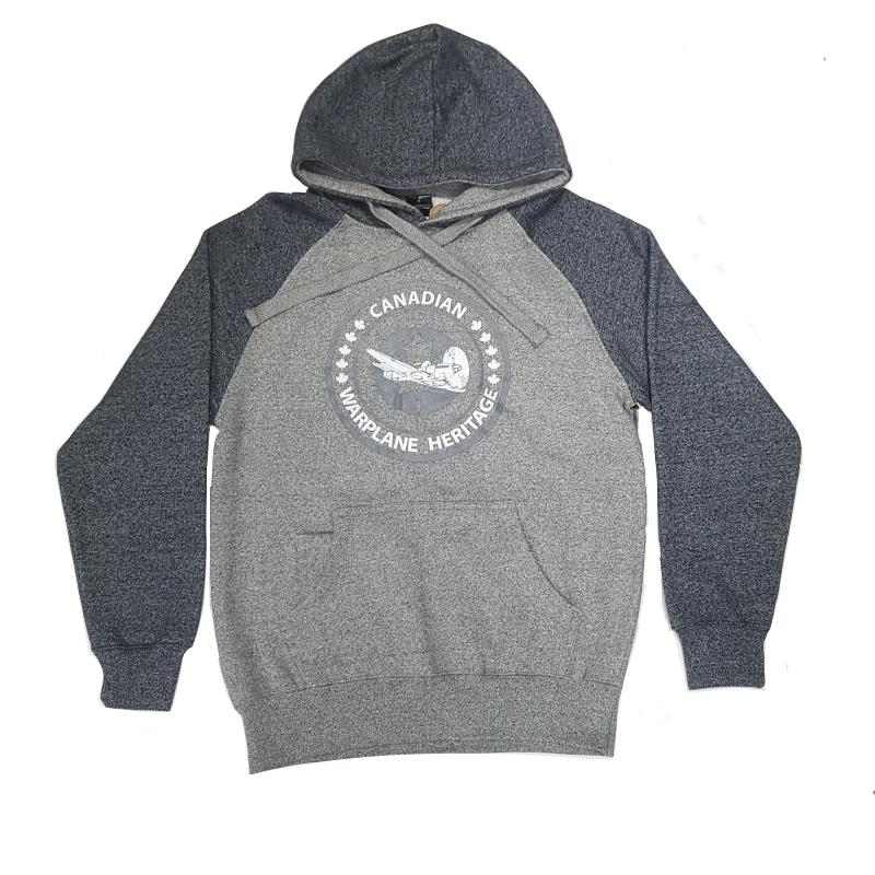 Product Photo of CWHMGREYHOODIE - Canadian Warplane Museum Grey Hoodie