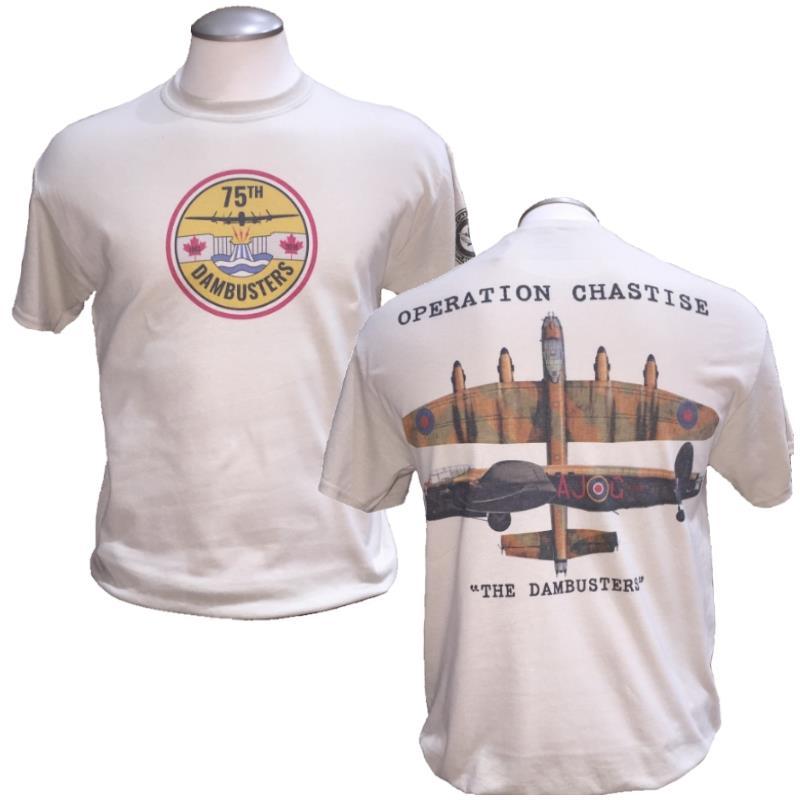 Product Photo of DAMBUSTERCWHTSHIRT - Operation Chastise CWH Dambuster T-Shirt