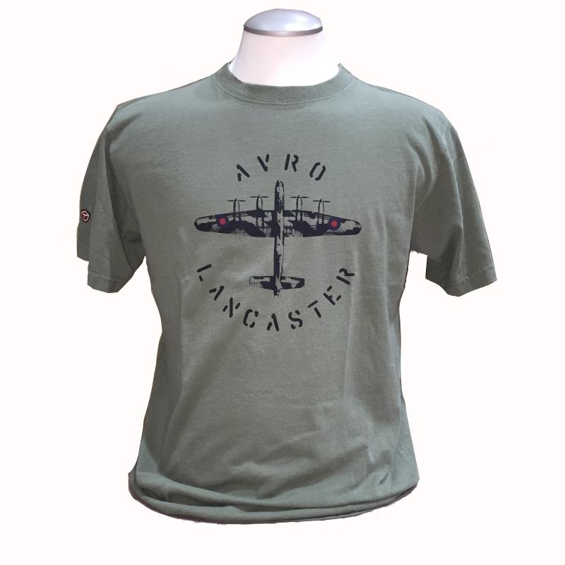Product Photo of DAXTSHIRTAVROLANC - Avro Lancaster T-shirt