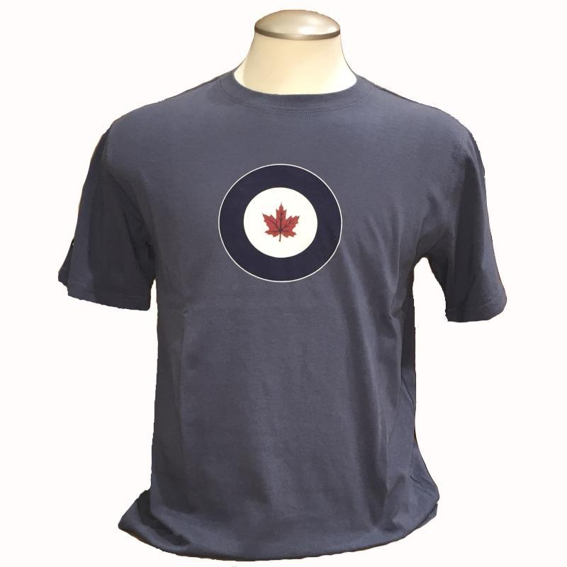 Product Photo of DAXTSHIRTRCAFROUNDELBLU - RCAF Roundel T-shirt