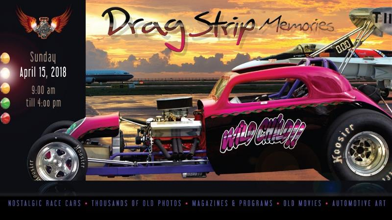 Product Photo of Dragstrip2018Table4plus - Dragstrip Memories 2018 8 foot table 4 plus