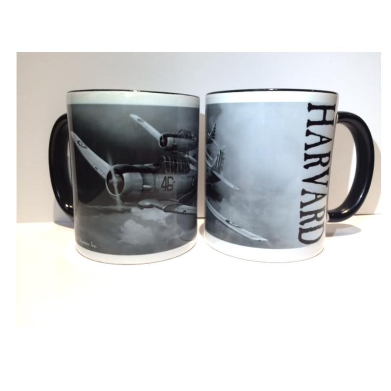 Product Photo of 23438 - Harvard Black and White Mug