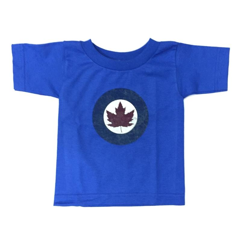 Product Photo of YOUTHRCAFBLUE - Blue R.C.A.F. Roundel Toddler T-Shirt