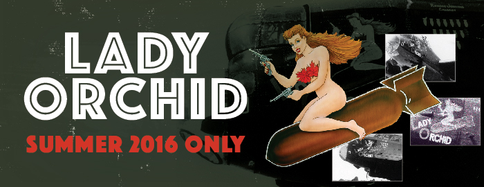 Poster for Lady Orchid - Summer 2016 Only event