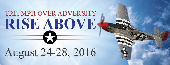 Poster for Triumph Over Adversity - RISE ABOVE event