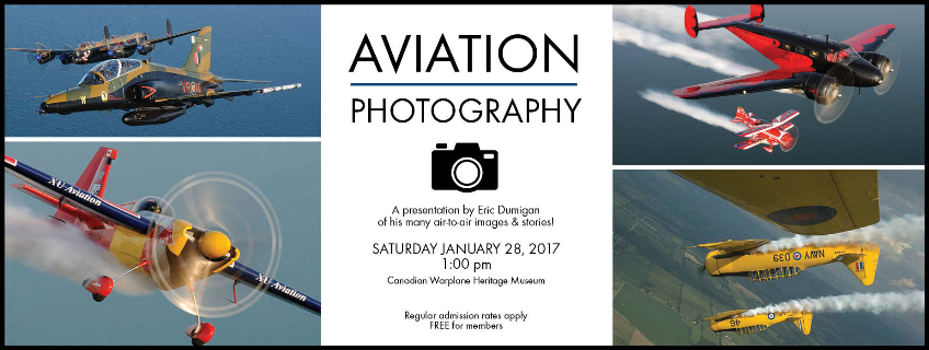 Poster for Aviation Photography event
