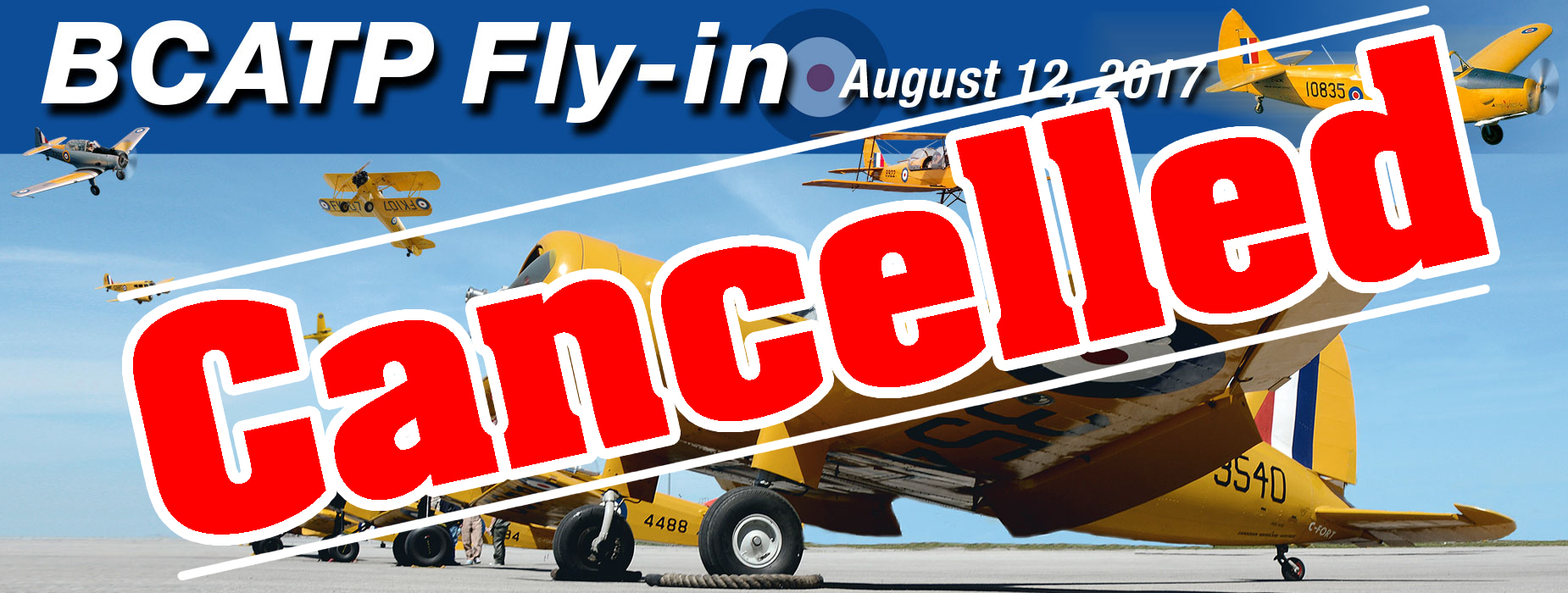 Banner Image for the BCATP Fly-In event