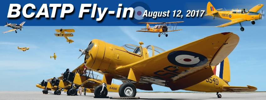 Poster for BCATP Fly-In event