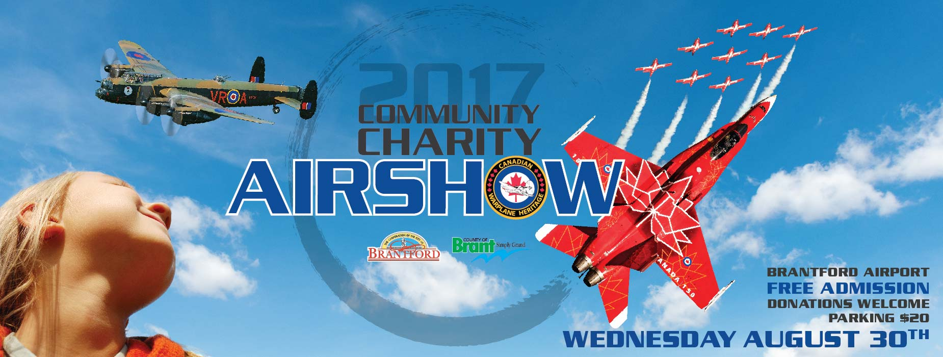 Poster for - Community Charity Airshow