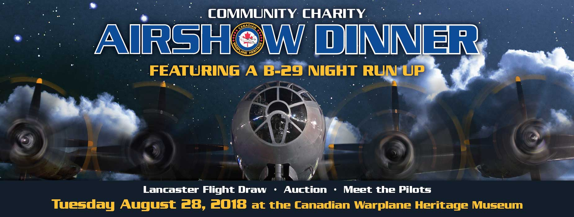 Poster for - Airshow Dinner