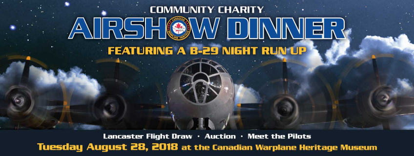 Poster for Airshow Dinner event