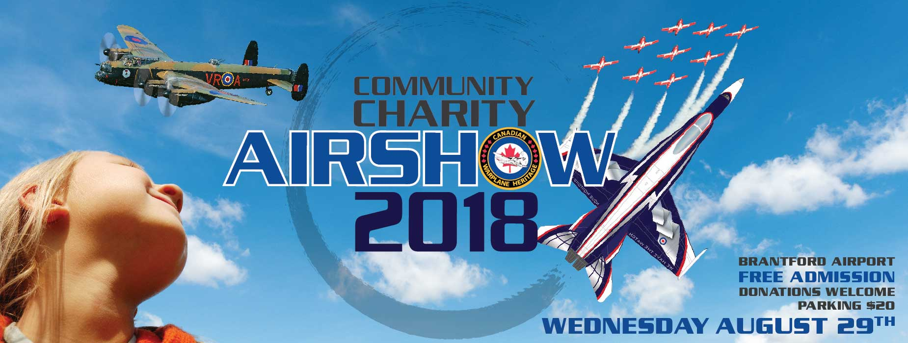 Banner Image for the Community Charity Airshow event