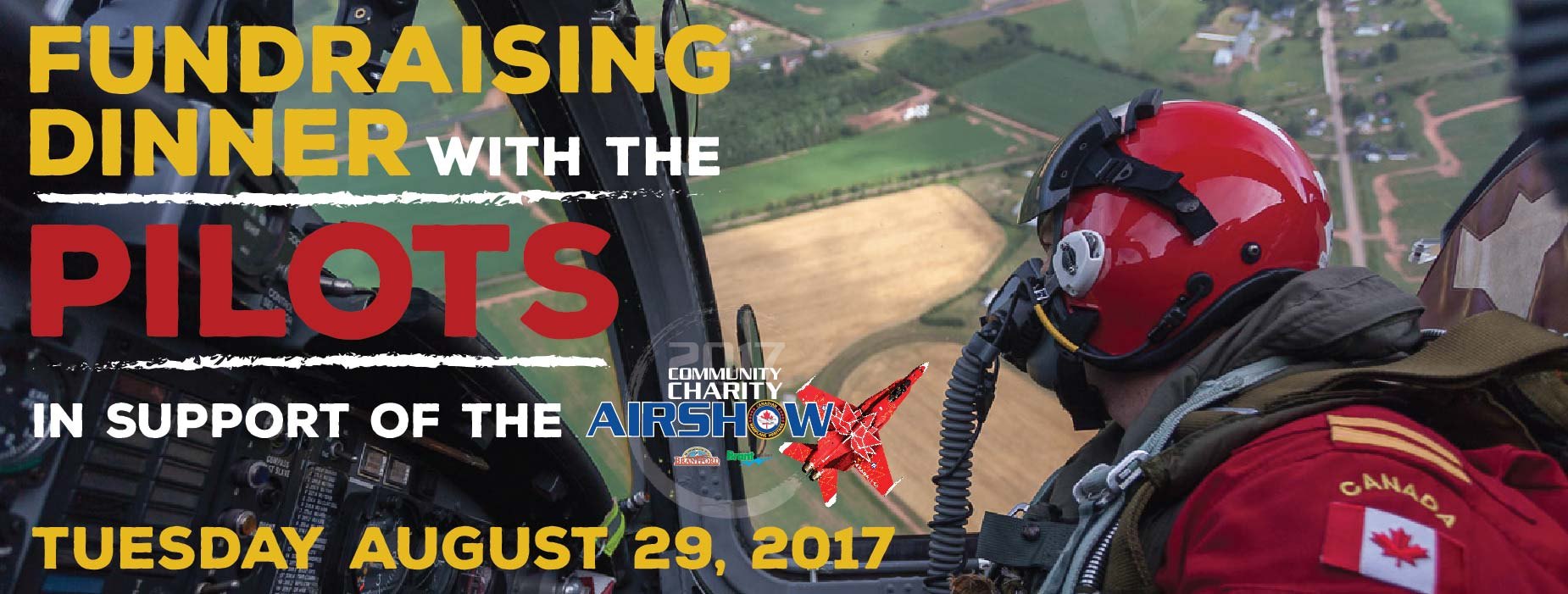 Banner Image for the Fundraising Dinner with the Pilots event