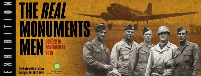 Poster for Exhibition - The Monuments Men: On the Front Line to Save Europe's Art 1942-1946 event