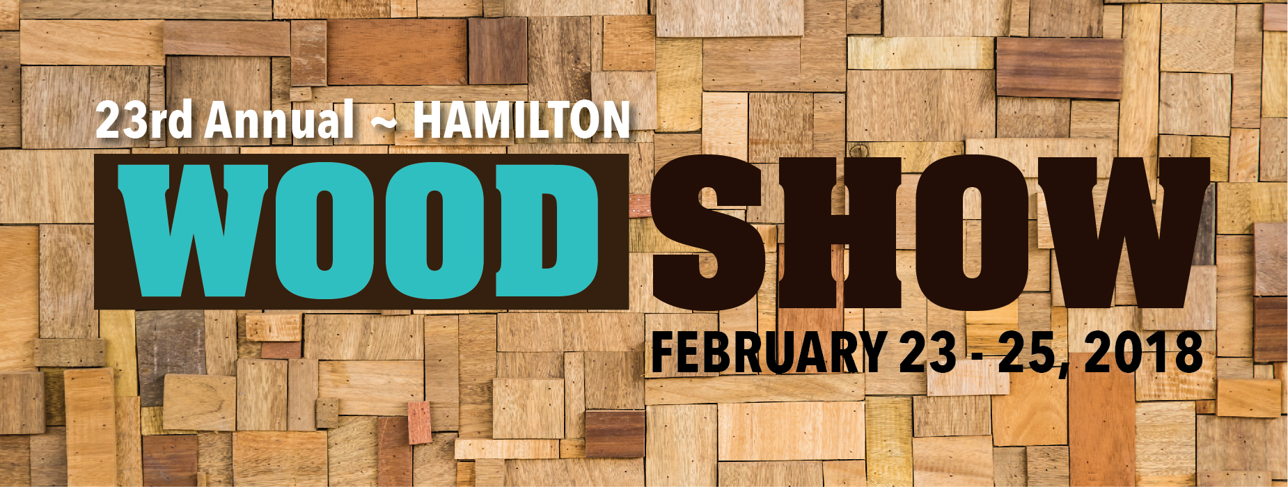 Poster for - Hamilton Wood Show