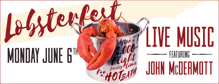 Poster for Lobsterfest event