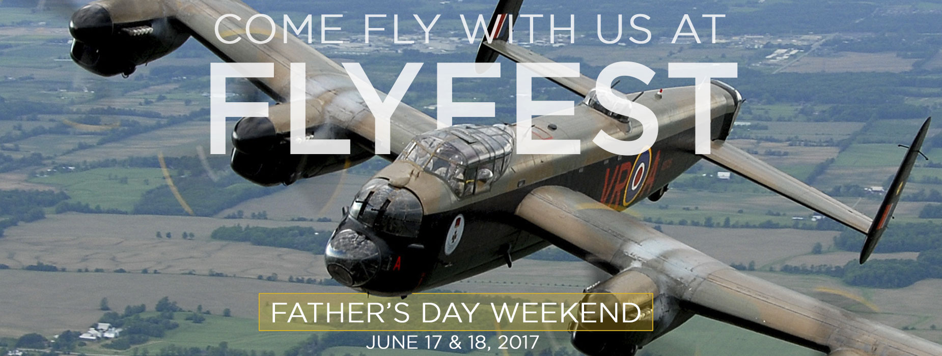 Banner Image for the Come fly with us at FLYFEST event