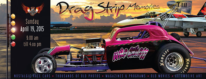 Poster for Dragstrip Memories event