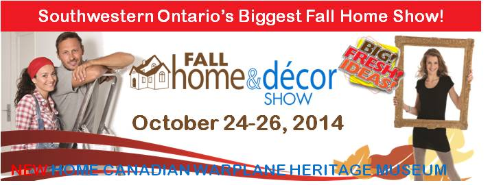 Poster for Fall Home & Decor Show event